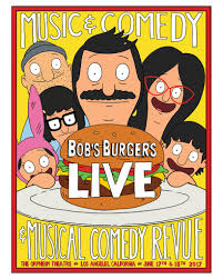 bob s burgers bob u0027s burgers live family 18x24 poster orpheum pickup only