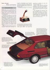 saab 900 engineering features brochure 1985 saabworld