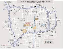 Map Of Charlotte Airport Maps Charlotte Chamber