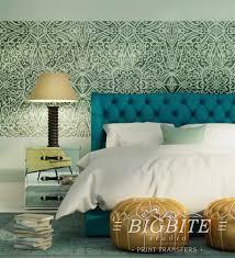 shabby chic stencil wallpaper trellis pattern 066 shabby chic