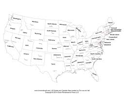 map of us states and capitals usa states and capitals map printable united states maps outline