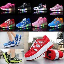 grown up light up shoes green unisex shoes for children ebay
