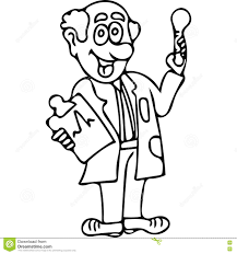 funny doctor kids coloring pages editorial stock image image