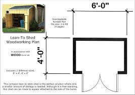 jank side yard storage shed plans