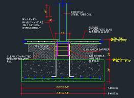 Pedestal Foundation Pedestal With Column Footing Typical Cad Files Dwg Files Plans