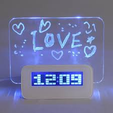 baban multifunctional led digital alarm clock calendar thermometer