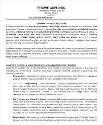 finance resumes download 24 free word pdf documents download