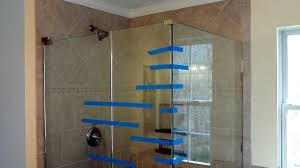 Tile Shower Pictures by Install Frameless Glass Doors For Tile Shower Youtube