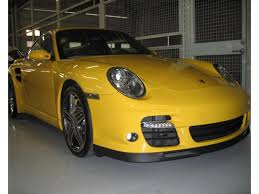porsche gt3 rs yellow porsche 911 front spoilers body parts