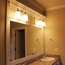 Large Mirror Frames Custom Framed Bathroom Mirrors 63 Trendy Interior Or Metal Framed