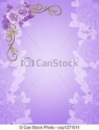 Lavender Roses Clipart Of Lavender Roses Floral Border Illustration Composition
