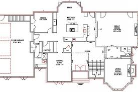 walk out basement floor plans lake home floor plans lake house plans walkout basement floor