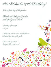 birthday party invitation template word marialonghi com