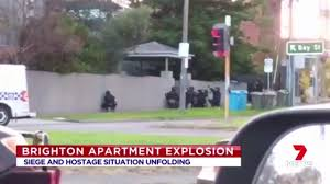 lexus brighton vic melbourne hostage situation two dead as gunman shoots police