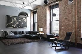 modern interior design laminate use successfull loft style