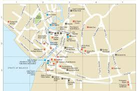 melaka tourist map printable printable maps