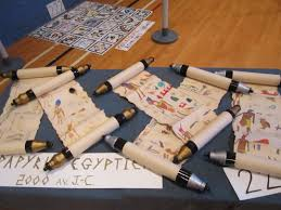 home theater egypt egyptian scrolls from papyrus ancient egypt crafts pinterest