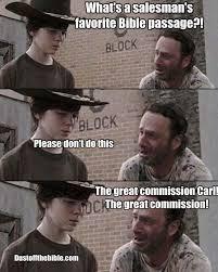 Funny Bible Memes - carl dad joke dank christian memes