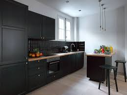 kitchen design white cabinets black appliances 25 black kitchen ideas