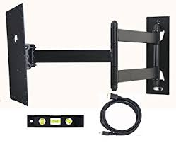 tv wall mount swing out com videosecu swing out arm tv wall mount for most 23 24