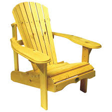 chaise adirondack traditional patio adirondack chair white pine yellow bc201p