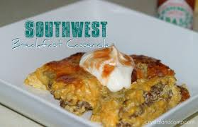 crystalandcomp beef recipes southwest breakfast casserole crystalandcomp com