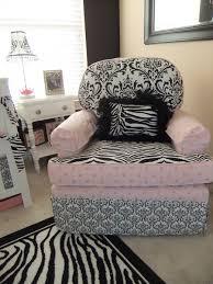 pink zebra and chandelier nursery project nursery