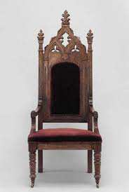Gothic Revival Home by 19th C English Gothic Revival Armchair For Sale At 1stdibs