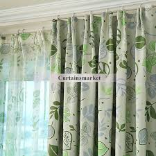Curtains With Green Endearing Curtains With Green Decorating With Green Blackout