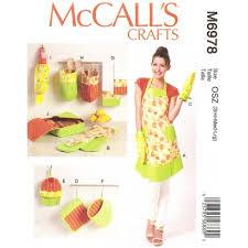 tuto tablier cuisine adulte patron tablier accessoires cuisine mccall s m6978