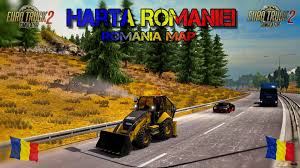 Map Of Romania Map Of Romania V9 1 1 26 X Map For Ets2 Ets2 Mod