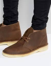 good feeling men clarks originals brown boots desert footwear