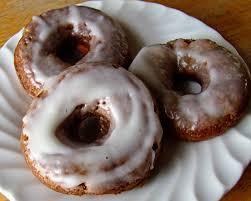 rurification carrot cake doughnuts with cream cheese glaze
