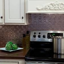 kitchen fasade backsplash waves in brushed aluminum paintable