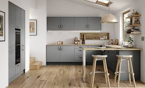 Stained Kitchen Cabinets by Kitchen Decorating Gray Cabinet Paint Colors Medium Grey Kitchen