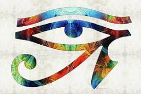 horus eye paintings america
