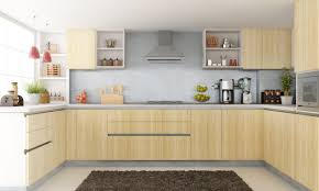 designs of small modular kitchen creamy oak wood kitchen island
