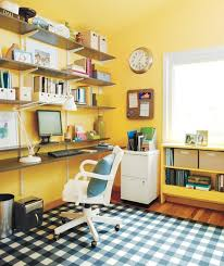 Home Office Desk Organization Ideas 21 Ideas For An Organized Home Office Real Simple