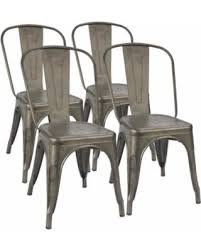 Tolix Dining Chairs Deal Alert Furmax Metal Dining Chair Tolix Style Indoor Outdoor