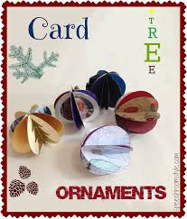 easy christmas crafts 4 card tree ornaments speech room style