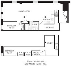 Industrial Loft Floor Plans Tilsner Lofts Studio 3 Bedroom Loft Apartments In St Paul Mn