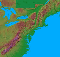 Map Of Mountains In United States building the northern appalachian mountains and new england