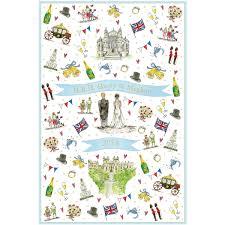 wedding tea milly green royal wedding tea towel shop