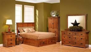 amish mission platform bed