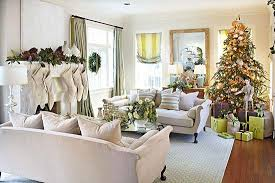 christmas decorated home living room decorated for christmas trad home hooked on houses