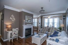 cottage livingroom cottage living room with hardwood floors flush light in mount