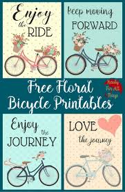 Bicycle Home Decor by Top 25 Best Bicycle Printable Free Ideas On Pinterest White