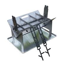 Firepits Direct The Wedge 600 Pit Ultimate Combo Kit Portable Bbq