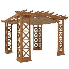 retractable roof pergola wayfair