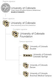 architect signature systemwide brand architecture university of colorado